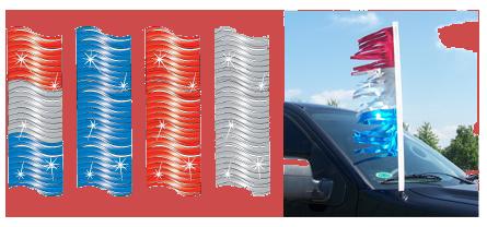 Kansas Auto Dealers Website Image - Metallic Antenna Trim
